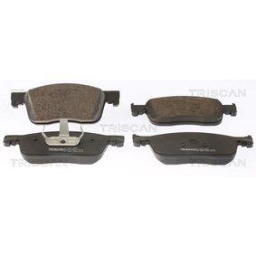 Bremsbelagsatz, Scheibenbremse Höhe: 69,6mm, Dicke/Stärke: 17,8mm mit OEM-Nummer 16 13 260 780