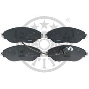 Brake Pad Set, disc brake Width: 175mm, Height: 70mm, Thickness: 20mm with OEM Number 3C0 698 151 G