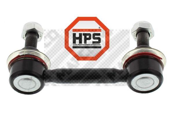 MAPCO  6696/1 Bremsbelagsatz, Scheibenbremse Breite: 105,3mm, Höhe: 55,9mm, Dicke/Stärke: 17,1mm