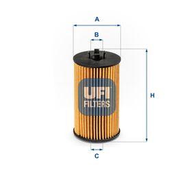Ölfilter Ø: 57,0mm, Innendurchmesser 2: 21,0mm, Höhe: 105,0mm mit OEM-Nummer 650173