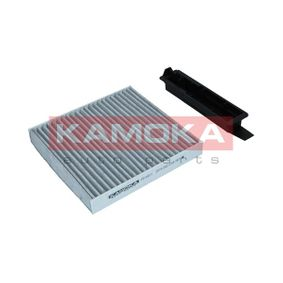 Filter, interior air Length: 183mm, Width: 181mm, Height: 25mm with OEM Number 77 11 426 872