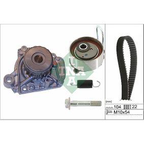 Honda Civic eu7 1.6i Wasserpumpe + Zahnriemensatz INA 530 0506 31 (1.6 i Benzin 2005 D16W7)
