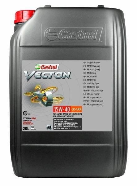 CASTROL Vecton, CK-4/E9 15C372 Olio motore
