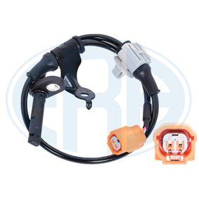 Sensor, wheel speed Length: 490mm with OEM Number 57475SEA003