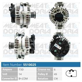 Lichtmaschine mit OEM-Nummer 12-31-7-532-966
