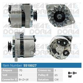 Lichtmaschine mit OEM-Nummer 1231 7501 599