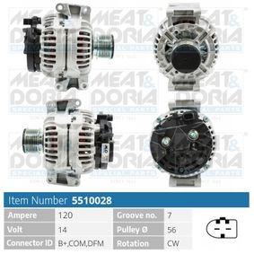 Lichtmaschine mit OEM-Nummer A2711540802