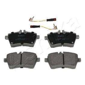 2010 Mercedes W169 A 200 CDI 2.0 (169.008, 169.308) Brake Pad Set, disc brake 50-00-0502