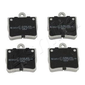 Bremsbelagsatz, Scheibenbremse mit OEM-Nummer A002 420 51 20