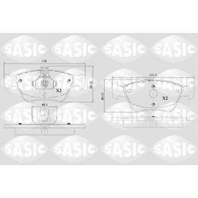 Bremsbelagsatz, Scheibenbremse Dicke/Stärke: 19,5mm mit OEM-Nummer A00 542 04 720
