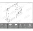 OEM Bremsbelagsatz, Trommelbremse KBL19032.2-1560 von BERAL
