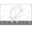 OEM Bremsbelagsatz, Trommelbremse KBL19071.0-1550 von BERAL