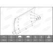 OEM Bremsbelagsatz, Trommelbremse KBL19515.1-1541 von BERAL