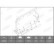 OEM Bremsbelagsatz, Trommelbremse KBL19604.0-1550 von BERAL