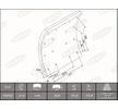 OEM Bremsbelagsatz, Trommelbremse KBL19932.0-1550 von BERAL