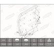OEM Bremsbelagsatz, Trommelbremse KBL19932.1-1637 von BERAL