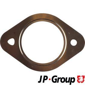 Touran 1T1, 1T2 1.4FSI Auspuffdichtung JP GROUP 1121104300 (1.4 FSI Benzin 2008 CAVB)