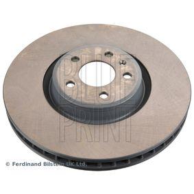 Bremsscheibe Bremsscheibendicke: 34mm, Ø: 349,0mm mit OEM-Nummer 4M0615301AB