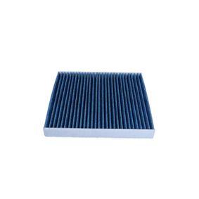 Filter, Innenraumluft Länge: 254mm, Breite: 235mm, Höhe: 32mm mit OEM-Nummer 5QD 819 644C