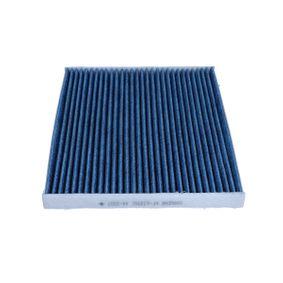 Filter, Innenraumluft Länge: 264mm, Breite: 218mm, Höhe: 20mm mit OEM-Nummer 7 175 4151