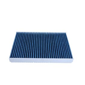 Filter, interior air Length: 280mm, Width: 206mm, Height: 30mm with OEM Number 1H0 091 800SE