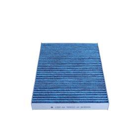 Filter, Innenraumluft Länge: 264mm, Breite: 190mm, Höhe: 27mm mit OEM-Nummer 95599725