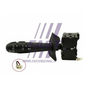 Steering Column Switch with horn, with indicator function, with light dimmer function, with rear fog light function, without board computer function with OEM Number 77 01 053 057