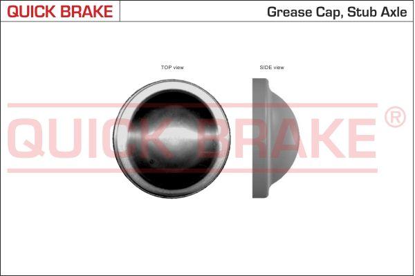 QUICK BRAKE  9829 Verschluss- / Schutzkappe