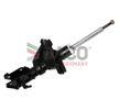 DACO Germany Vorderachse rechts, Zweirohr, Gasdruck, Federbein, oben Stift 452601R