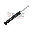 DACO Germany Hinterachse, Zweirohr, Gasdruck, Dämpfer mit Zuganschlagfeder, oben Stift 560302