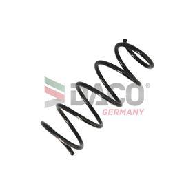 Renault Kangoo kc01 1.5dCi (KC08, KC09) Federn DACO Germany 802601 (1.5 dCi Diesel 2013 K9K 702)