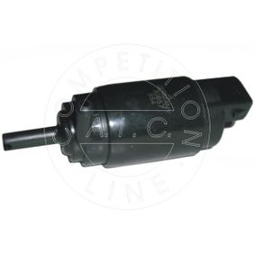 Water Pump, window cleaning Voltage: 12V, Number of connectors: 2 with OEM Number 1 450 184