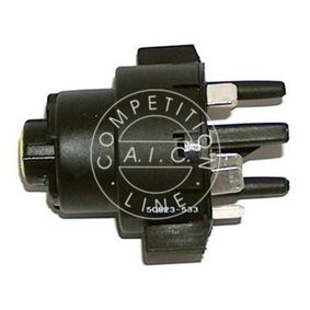 Ignition- / Starter Switch Number of connectors: 8 with OEM Number 893905849