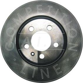 Bremsscheibe Bremsscheibendicke: 22mm, Felge: 5-loch, Ø: 280mm mit OEM-Nummer 1J0 615 301 P