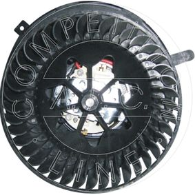 Interior Blower Rated Power: 324W, Number of connectors: 2 with OEM Number 1K1 819 015 E
