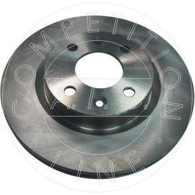 Bremsscheibe Bremsscheibendicke: 20,5mm, Lochanzahl: 4, Ø: 258,5mm mit OEM-Nummer 6001548578