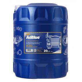 Flüssigkeit zur Abgasnachbehandlung bei Dieselmotoren / AdBlue MANNOL AD3001-20 für Auto (Inhalt: 20l, Harnstoffgehalt-32.5, Stickstoffgehalt, -15.2%, Kanister)