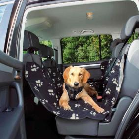 Housse de siège de voiture pour chien Longueur: 145cm, Largeur: 140cm 7721560