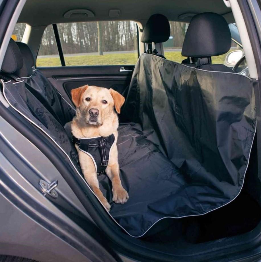 JOLLYPAW  7721561 Protection de voiture pour chien Longueur: 160cm, Largeur: 140cm