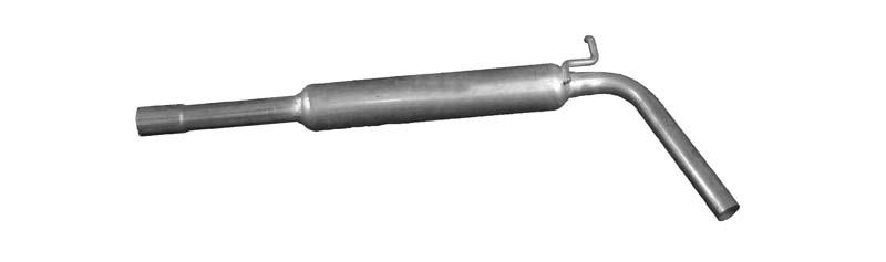 IZAWIT  18.022 Mittelschalldämpfer