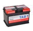 TAB Magic 12V 75Ah 720A B13 DIN 57510 SMF Bleiakkumulator 189072