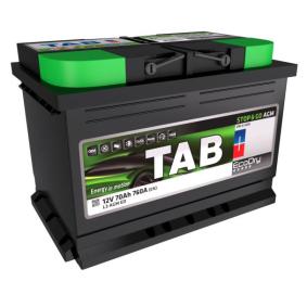 Starterbatterie mit OEM-Nummer 570901076 TAB