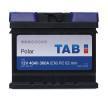 Akkumulator SUBARU JUSTY 3 (G3X) 2007 Baujahr 541400036 TAB Batterie-Kapazität: 40Ah, Kälteprüfstrom EN: 360A, Spannung: 12V