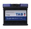 TAB Polar en Bilbatteri 12V 45Ah 420A B13 DIN 54502 SMF Bly-syre batteri