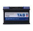 TAB Polar LKW-Batterien 73Ah, 12V, 630A, B13, Bleiakkumulator, DIN 57309 SMF