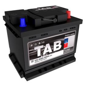 TAB Starterbatterie 12V 45Ah 400A B13 DIN 54559 SMF Bleiakkumulator