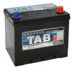 Akkumulator SUBARU FORESTER (SF) 1997 Baujahr 75D23L TAB Batterie-Kapazität: 65Ah, Kälteprüfstrom EN: 650A, Spannung: 12V