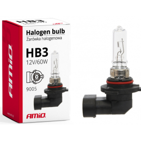 Bulb, spotlight HB3 60W 9005 Halogen 01479 FORD B-MAX, PUMA, COUGAR