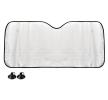AMiO Couverture de pare-brise Quantité: 1, Pare-brise du véhicule, PE (polyéthylène), Longueur: 150cm, Largeur: 80cm