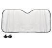 AMiO Couverture de pare-brise Quantité: 1, Pare-brise du véhicule, PE (polyéthylène), Longueur: 145cm, Largeur: 70cm